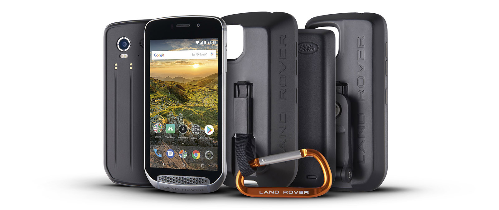 Land Rover Explore Android-smartphone