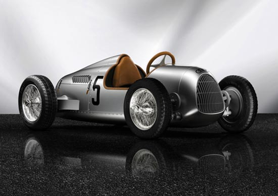 Auto Union Type C trapauto