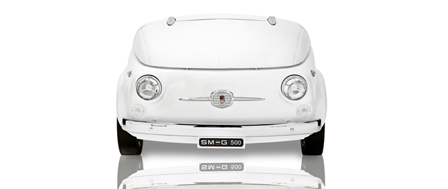 De SMEG 500 koelkast is Cool
