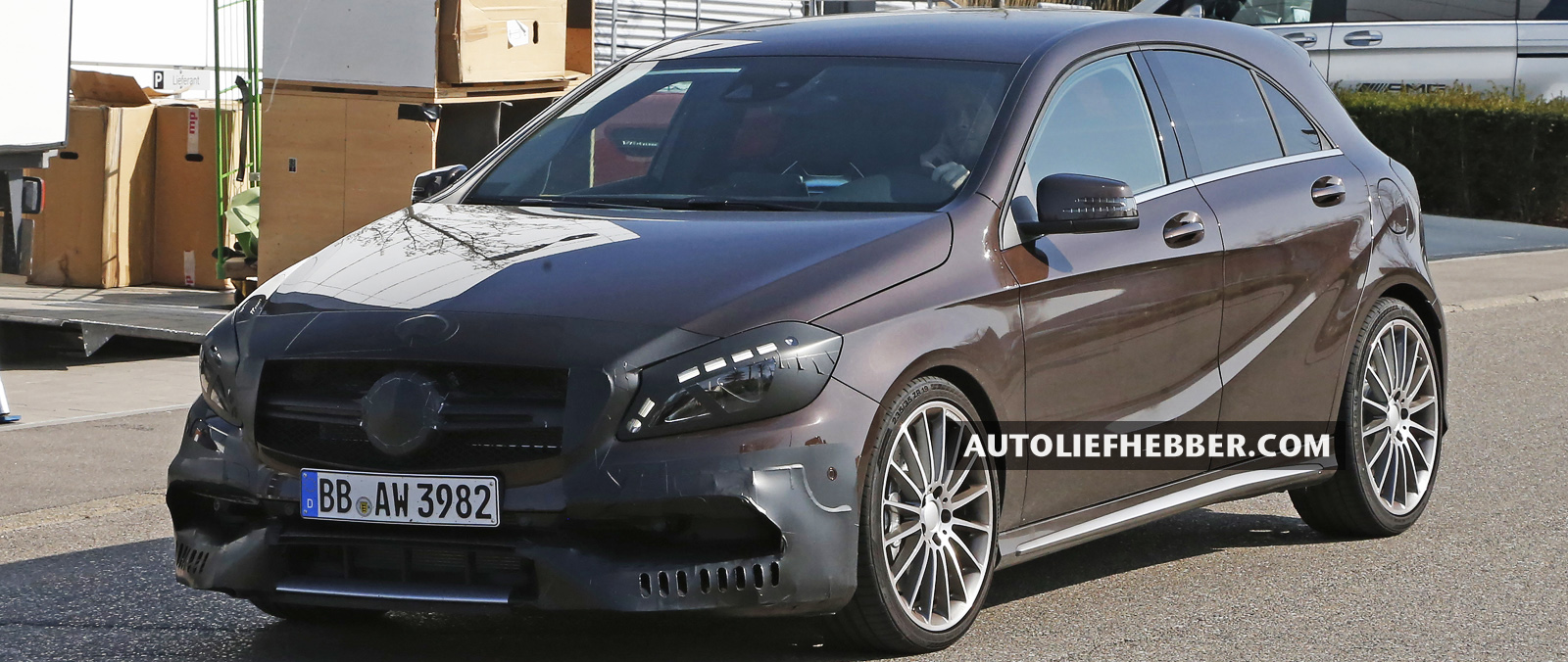 Mercedes A45 AMG ook boven 400 pk