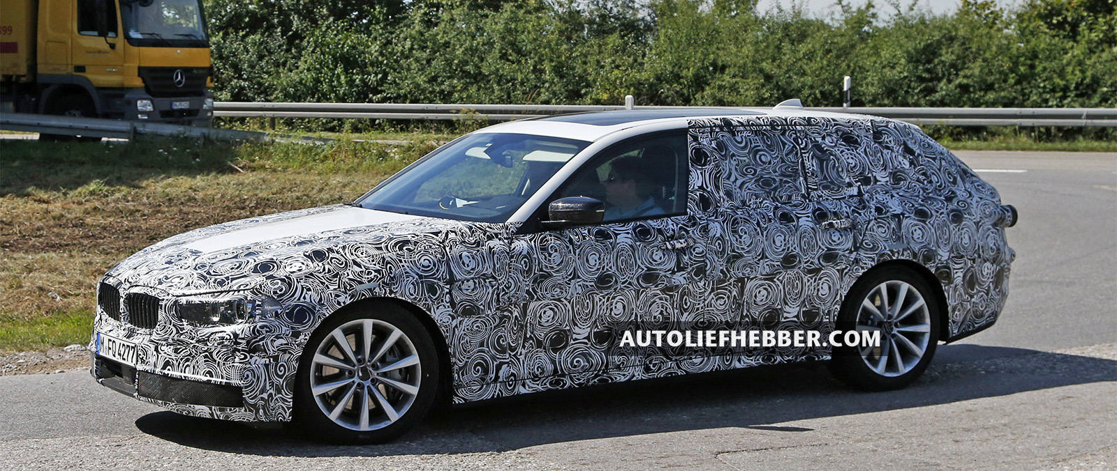 BMW 5 Serie Touring ook als plug-in hybride