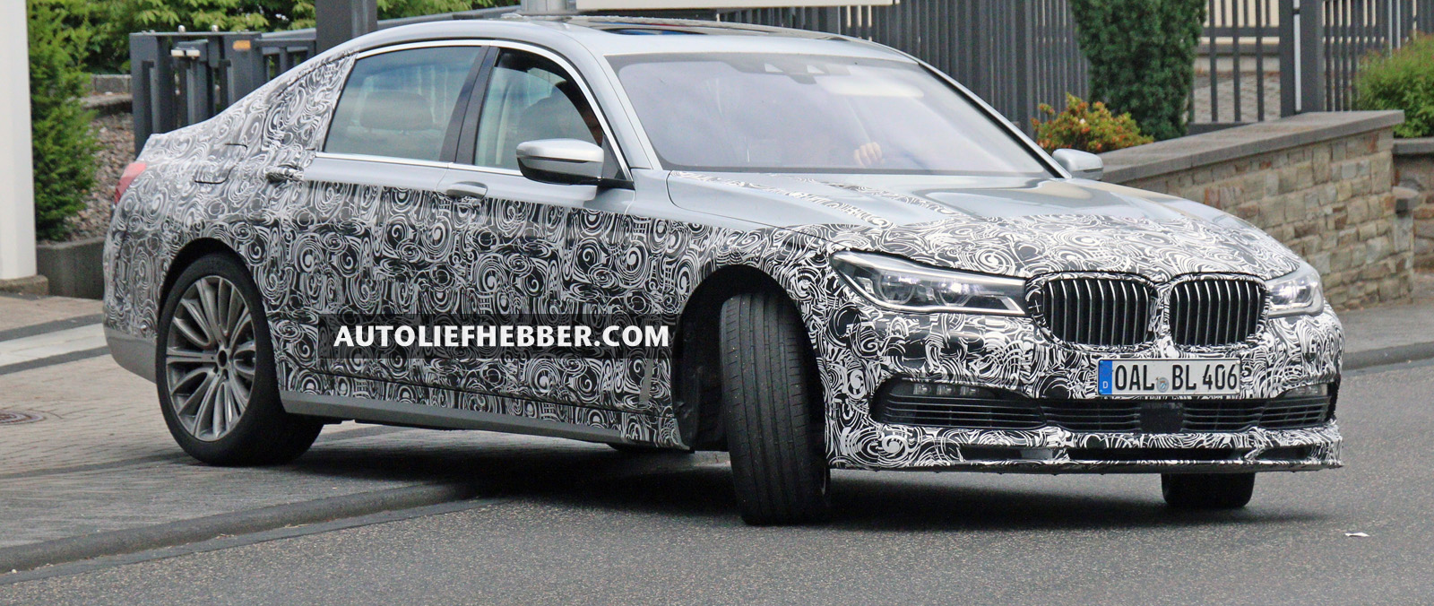 Alpina B7 in laatste testfase