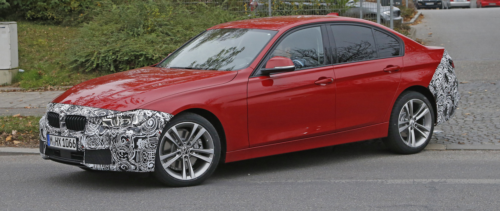 BMW 3 Serie Sedan is betrapt