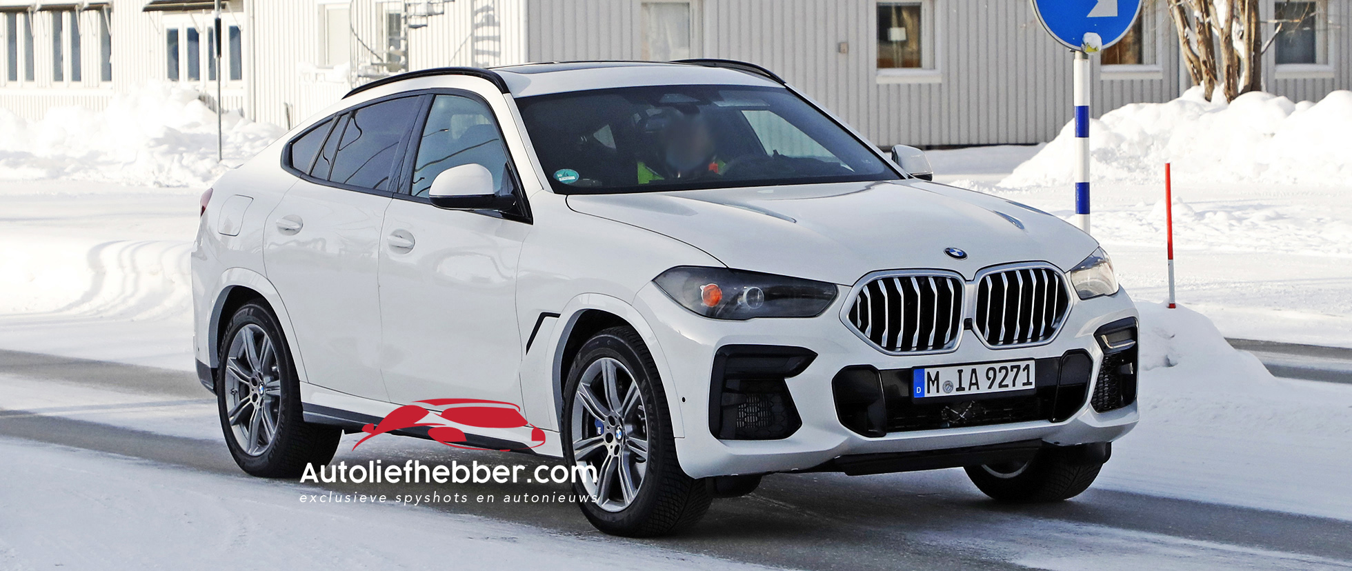 BMW X6 Facelift betrapt