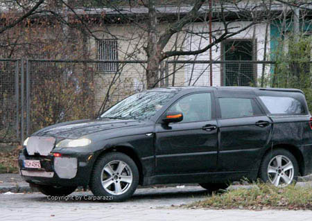 BMW X6 in plastic