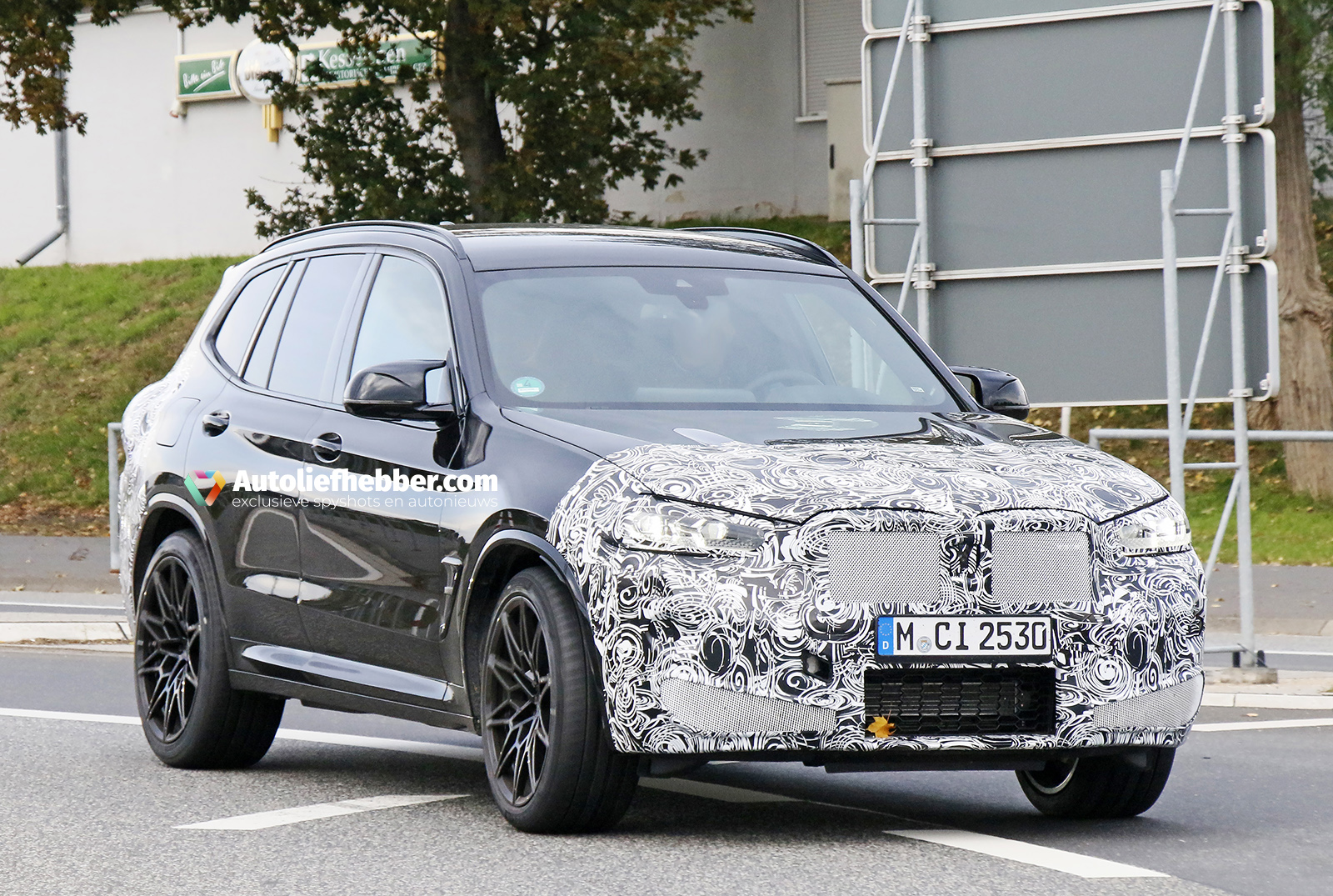 Ook BMW X3 M Facelift betrapt