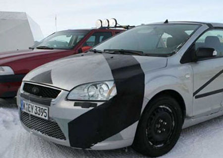 Ford Focus RS - Spyshots