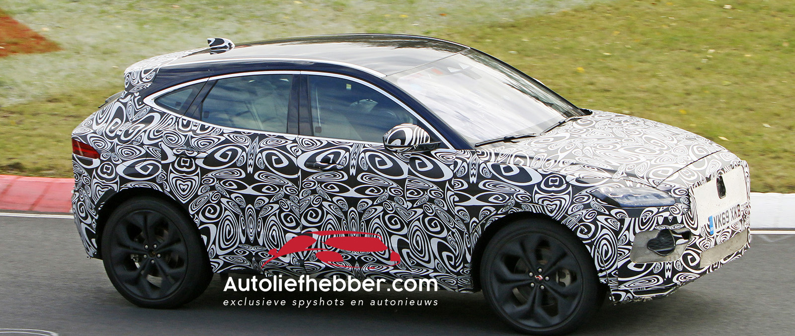 Spionage beelden Jaguar epace