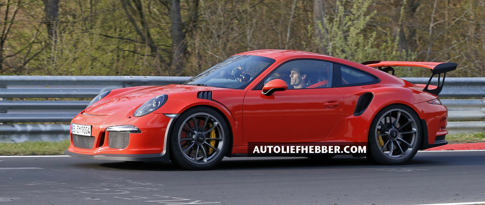 Mark Webber test de Porsche 991 GT3 RS