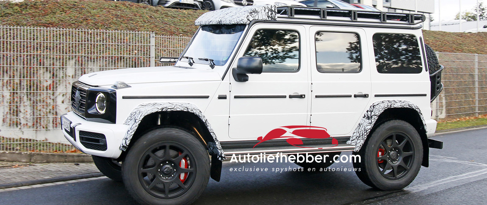 Mercedes G 4X4 of Squared