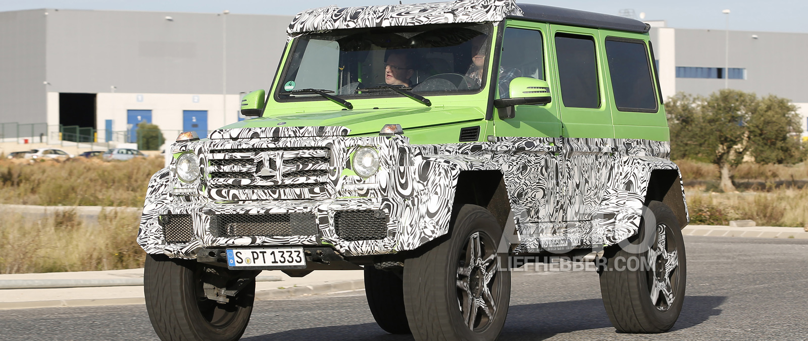 Mercedes G63 AMG 4X4 is de Hulk