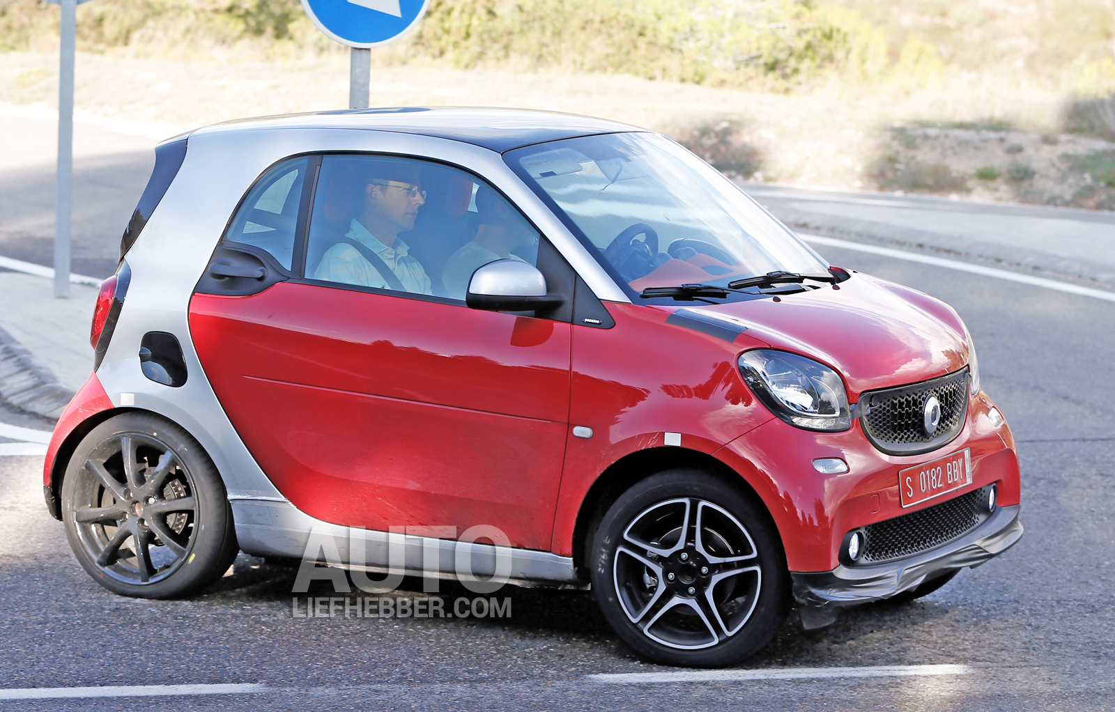 Smart ForTwo Brabus is een pocket-rocket