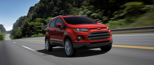 Ford introduceert EcoSport in Europa