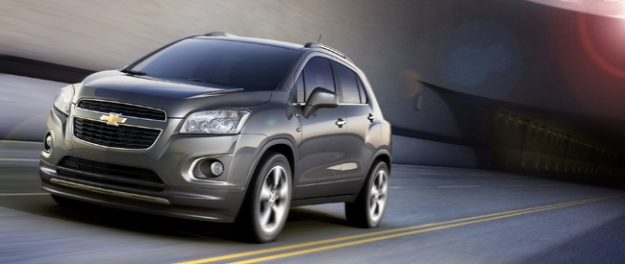 Chevrolet Trax in September op Paris Motor Show