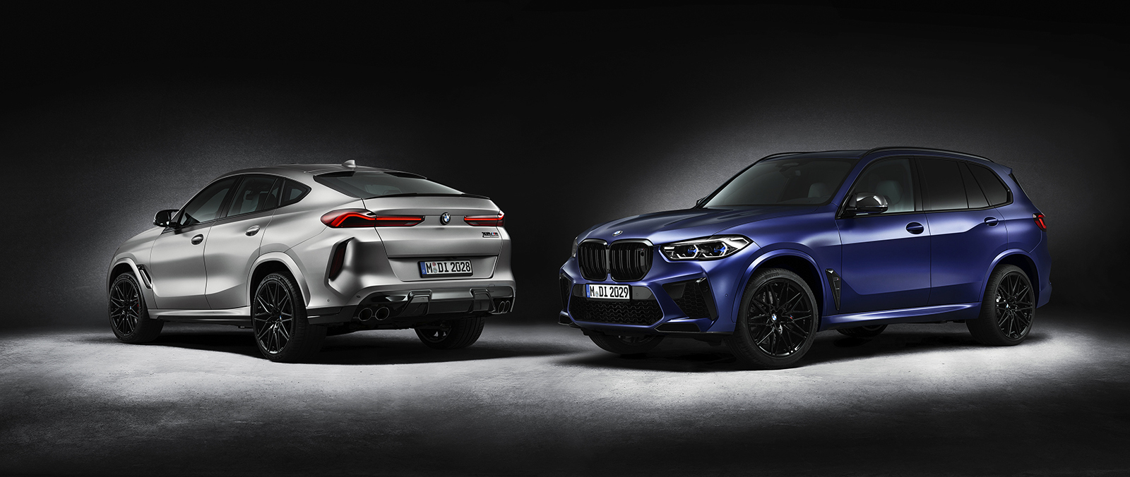 BMW X5M en X6M Competition