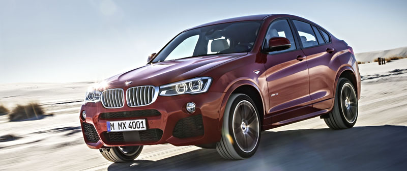 Officiele release van BMW X4