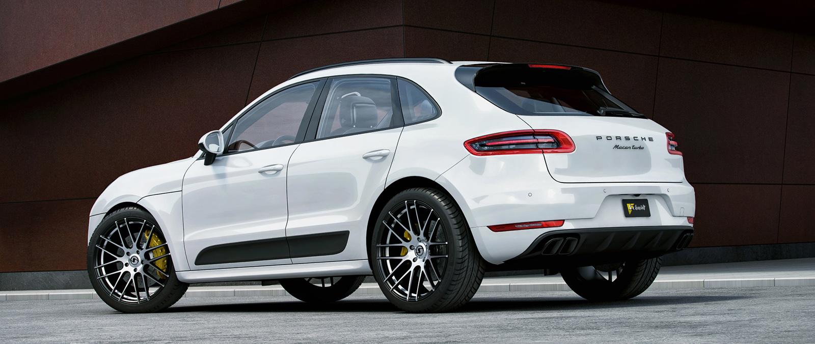 Porsche Macan Met Dikke Velgen Porsche Autoliefhebbercom