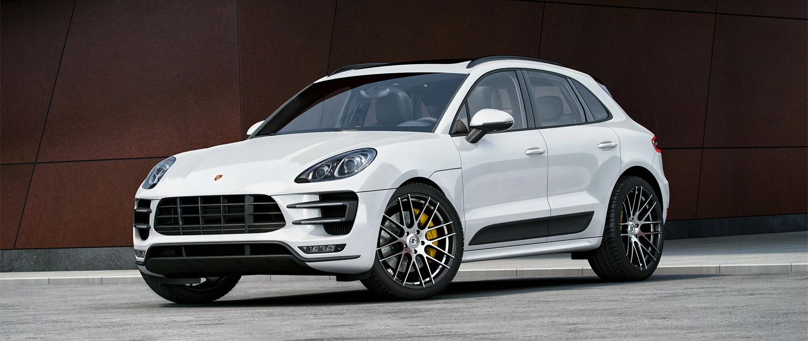 Porsche Macan Met Dikke Velgen Porsche Autoliefhebber Com