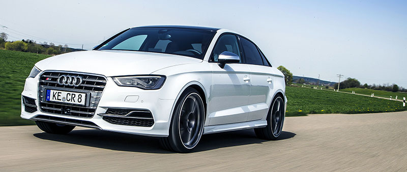 Audi S3 Sedan van Abt met veel power