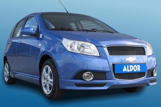 Chevrolet Aveo stylingpakket van Aldor Automotive