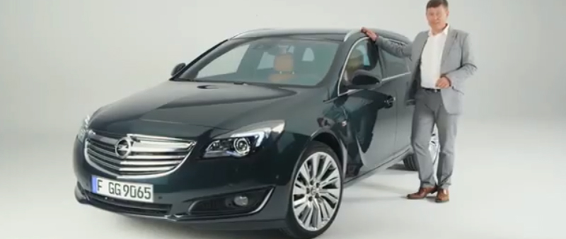 Video infotainment in nieuwe Opel Insignia (Country Tourer )