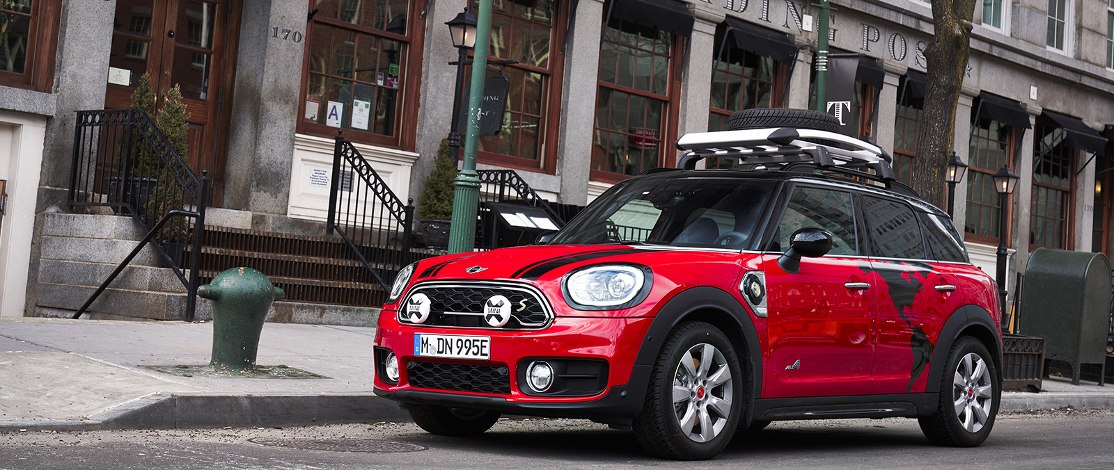 Mini Countryman Panamericana plug-in hybride