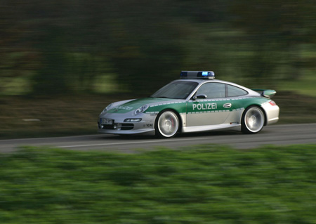 Porsche 911 Carrera S TechArt Police Car