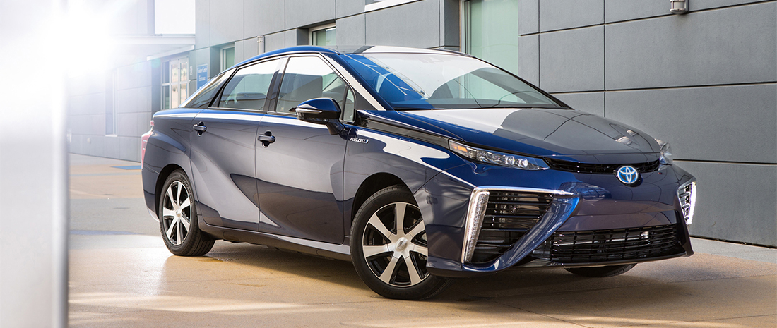 Toyota Mirai waterstofauto 2015 in productie